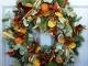 Фруктовые украшения к Новому году