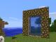 Как сделать портал в город без модов в Minecraft