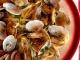 Лингвини с моллюсками и беконом
