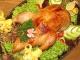 Рецепты: курица в духовке с овощами, фаршированная яблоками