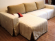 Покрывала на угловые диваны: от простоты до роскоши