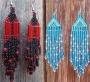 КАК сделать сережки из бисера Сережки из бисера схемы Рукоделие