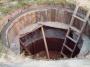 Деревянная опалубка для бетонного септика