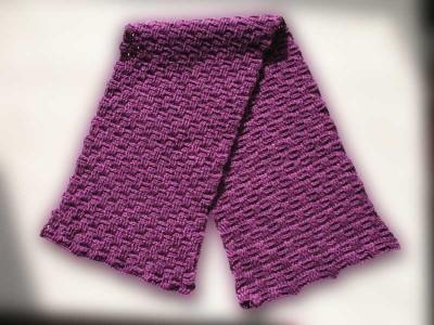 Как научиться вязать шарф