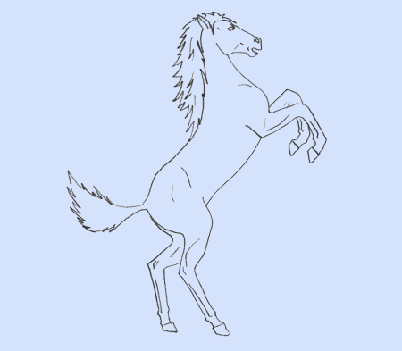Как нарисовать <strong>лошадь</strong>