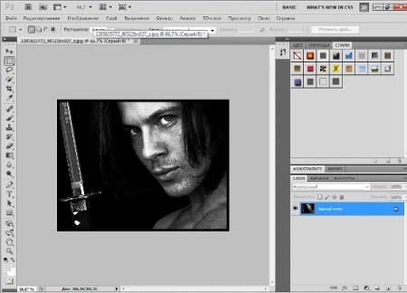 Как сделать из <b>фото</b> карандашный <strong>рисунок</strong>