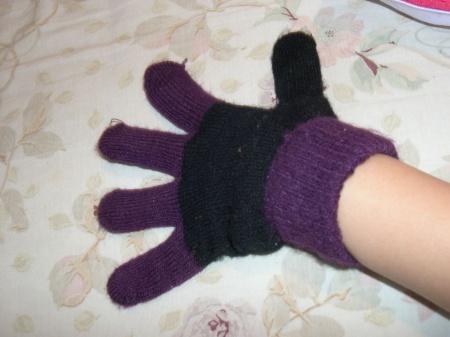 Как связать <strong>варежки</strong> <b>перчатки</b>