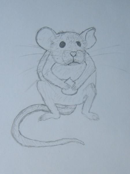 Как нарисовать <strong>мышонка</strong>