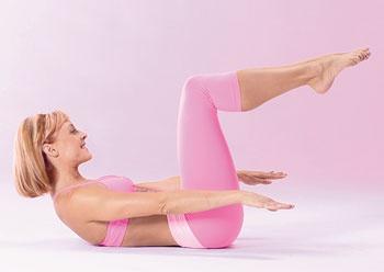 Как сделать так чтобы между ногами был промежуток