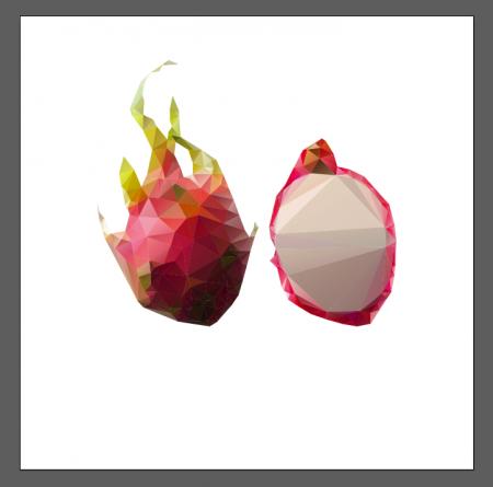 у меня это изображение фрукта, состоящее из множества элементов